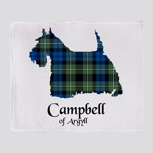 Terrier - Campbell of Argyll Throw Blanket