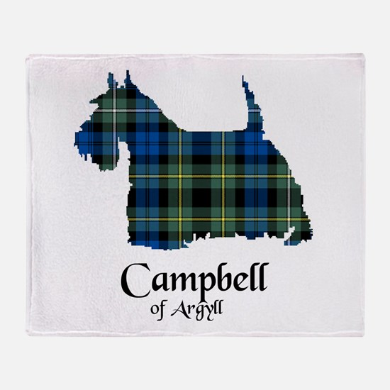 Terrier - Campbell of Argyll Throw Blanket