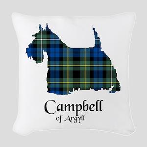 Terrier - Campbell of Argyll Woven Throw Pillow