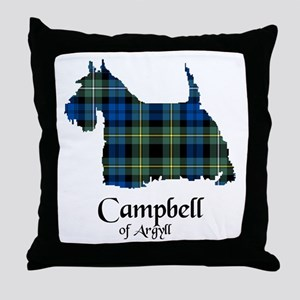 Terrier - Campbell of Argyll Throw Pillow