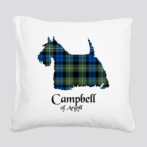Terrier - Campbell of Argyll Square Canvas Pillow