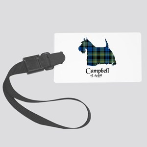 Terrier - Campbell of Argyll Large Luggage Tag