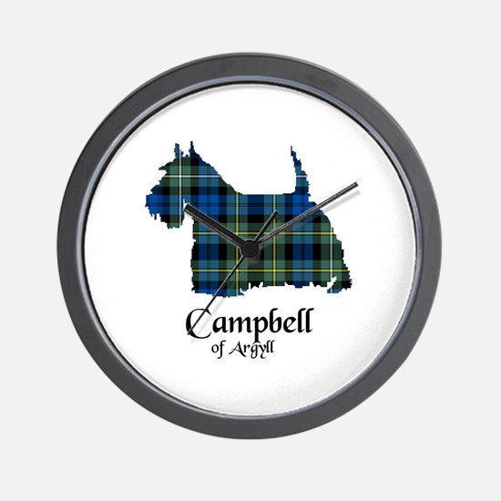 Terrier - Campbell of Argyll Wall Clock