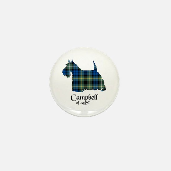 Terrier - Campbell of Argyll Mini Button