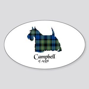 Terrier - Campbell of Argyll Sticker (Oval)