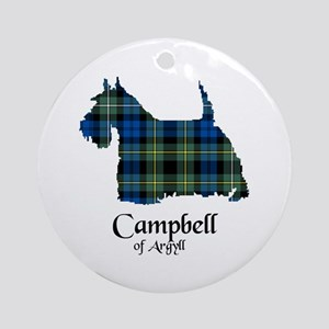 Terrier - Campbell of Argyll Ornament (Round)