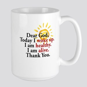 Dear God. Thank You. Mugs