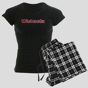 Michaela Santa Fur Pajamas