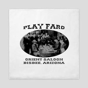 Orient Saloon Bisbee Arizona Queen Duvet