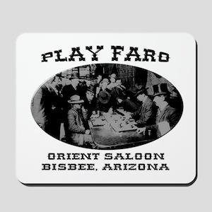 Orient Saloon Bisbee Arizona Mousepad