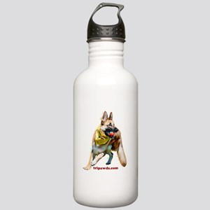 Tripawds Three Legged GSD Ball Water Bottle