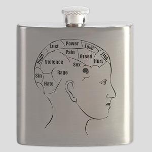 Phrenology Flask