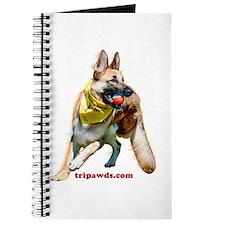 Tripawds Three Legged GSD Ball Journal