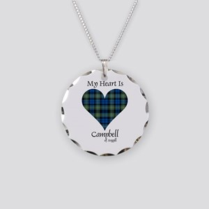 Heart - Campbell of Argyll Necklace Circle Charm