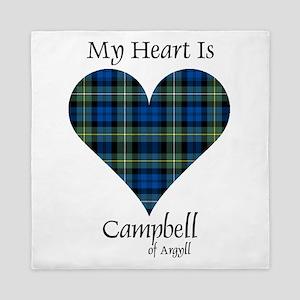 Heart - Campbell of Argyll Queen Duvet