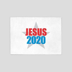 JESUS 2020 5'x7'Area Rug