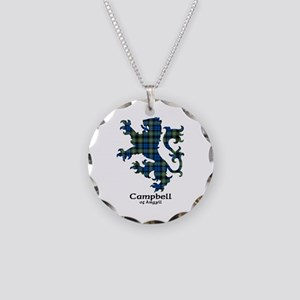 Lion - Campbell of Argyll Necklace Circle Charm