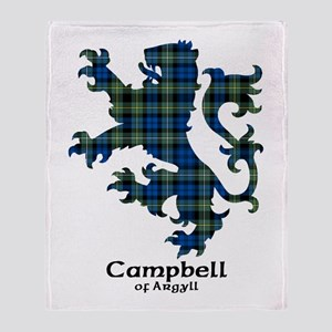 Lion - Campbell of Argyll Throw Blanket