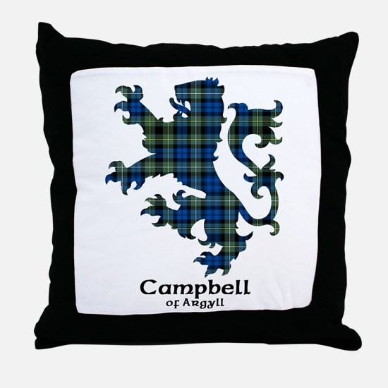 Lion - Campbell of Argyll Throw Pillow