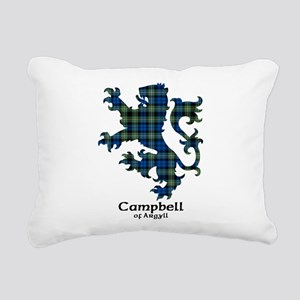 Lion - Campbell of Argyll Rectangular Canvas Pillo