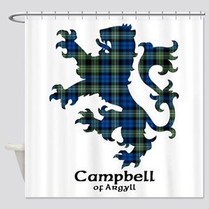 Lion - Campbell of Argyll Shower Curtain