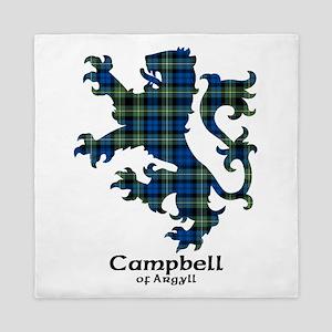 Lion - Campbell of Argyll Queen Duvet