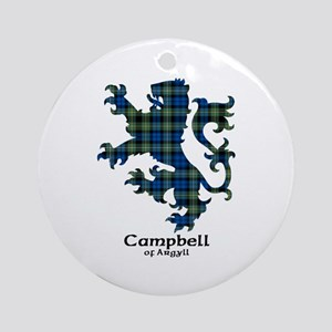 Lion - Campbell of Argyll Ornament (Round)