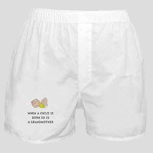 Grandmother Born Boxer Shorts