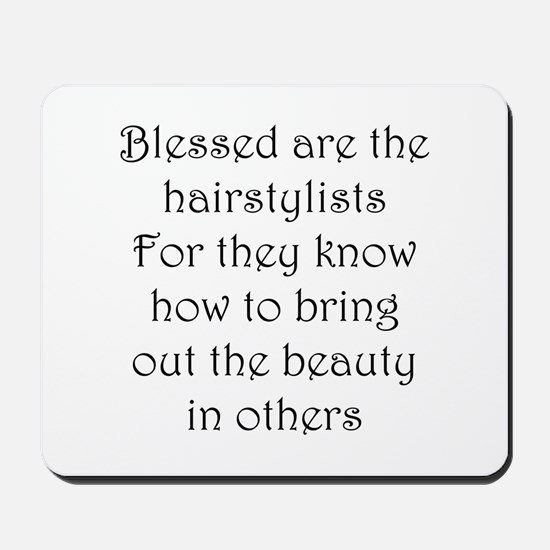 Hairstylist Mousepad