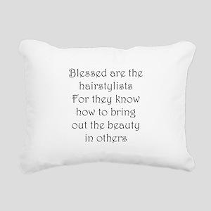 Hairstylist Rectangular Canvas Pillow