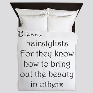 Hairstylist Queen Duvet