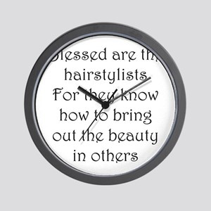 Hairstylist Wall Clock