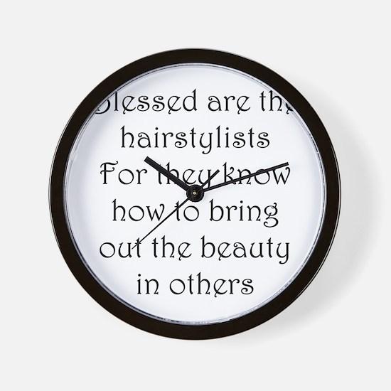 Hairstylist Wall Clock