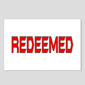 Redeemed Postcards (Package of 8)