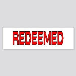 Redeemed Bumper Sticker