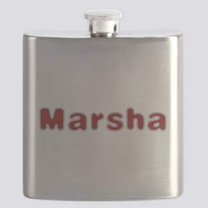 Marsha Santa Fur Flask
