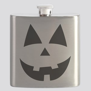 Pumpkin Face Flask