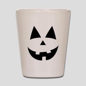 Pumpkin Face Shot Glass