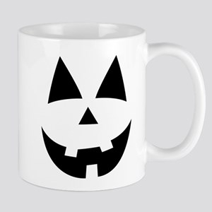 Pumpkin Face Mugs