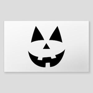 Pumpkin Face Sticker