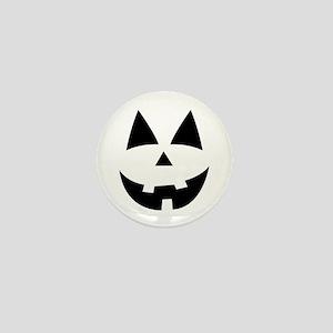 Pumpkin Face Mini Button