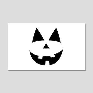 Pumpkin Face Car Magnet 20 x 12