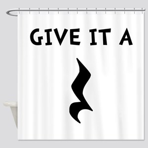 Music Rest Shower Curtain