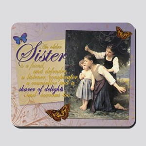 Older Sisters: In the Woods Mousepad