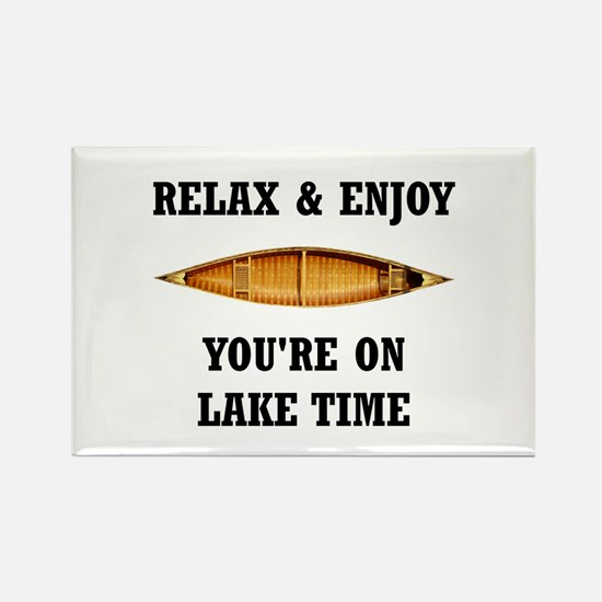 On Lake Time Magnets