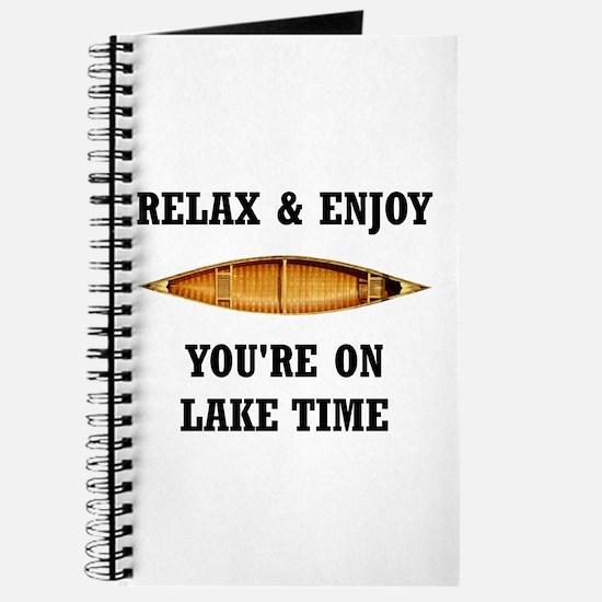 On Lake Time Journal