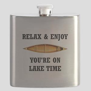 On Lake Time Flask