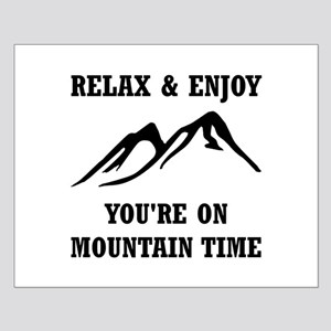 On Mountain Time Posters