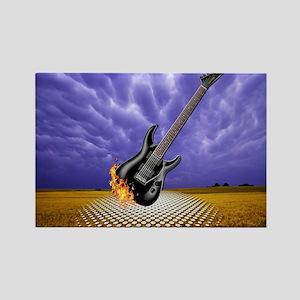guitar Rectangle Magnet