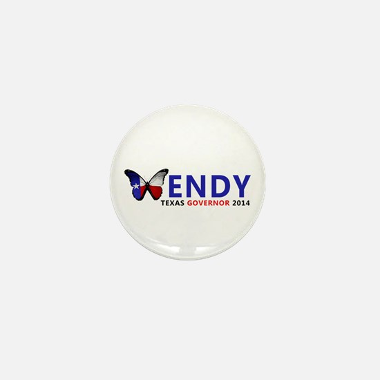 Texas Governor Butterfly Wendy Davis 2014 Mini But